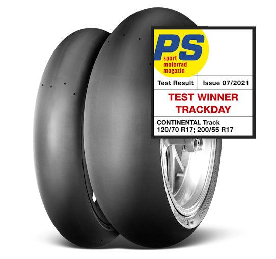 ContiTrack wins PS track day slick test