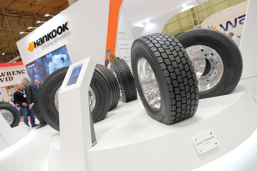 Hankook presenting new tyre solutions at 2021 CV Show
