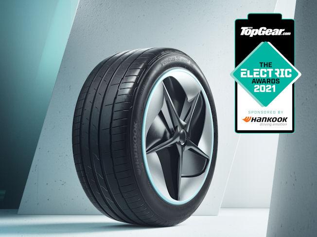 Hankook Tyre UK secures headline sponsorship of 2021 BBC Top Gear EV Awards