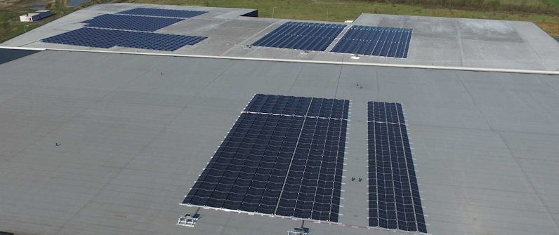 Heuver installs additional solar panels to ensure continued energy neutrality