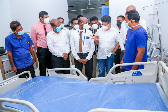 Responsible corporates need to give back: GRI aids Sri Lanka during pandemic