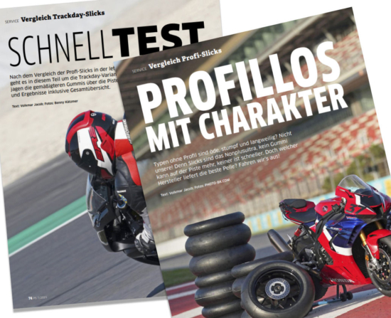Tyre tests - Motorcycle slicks for racing & track days ...