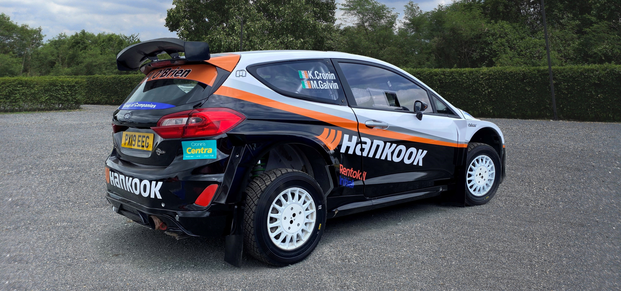 Hankook supports 4-time British Rally champion Cronin's 2021 return