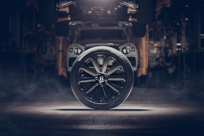 "Bentley & Bucci develop 22"" carbon fibre wheel"