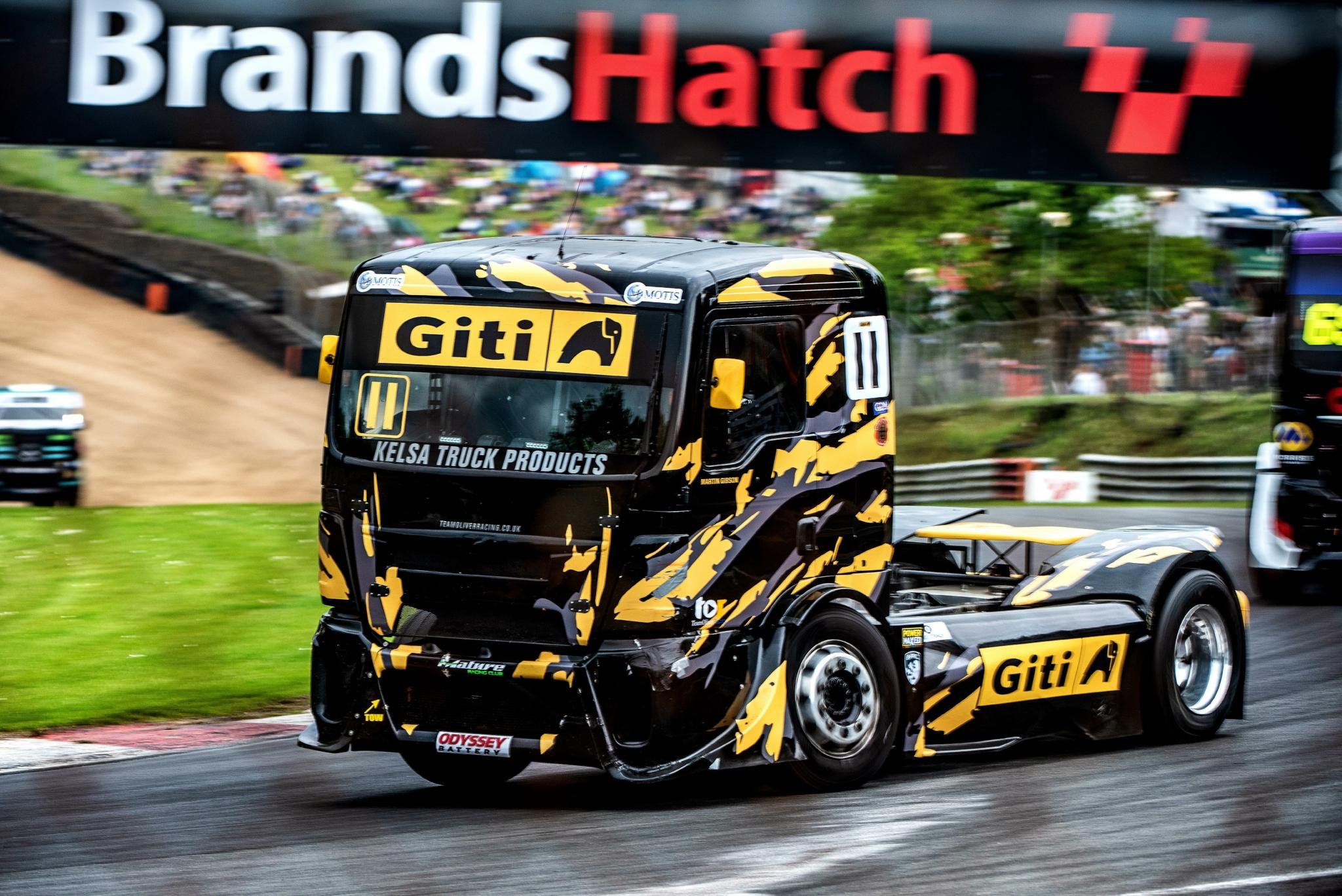Giti-sponsored British Truck Racing Championship heads to Thruxton