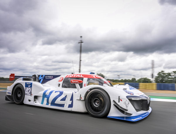 LMPH2G hydrogen racer coming to Goodwood with Michelin