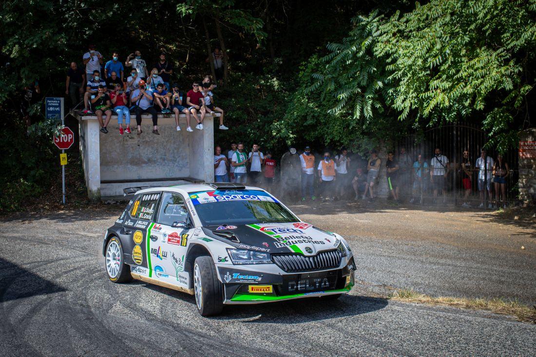 Pirelli P Zero RA tyres lock out Rally di Roma podium