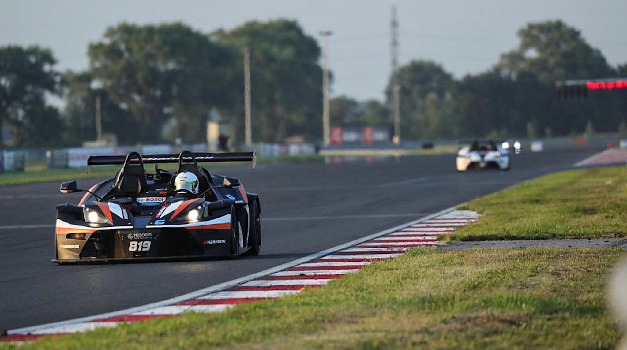 Hankook-shod Team Razoon KTM X-Bow R competes at Slovakiaring in Histo Cup