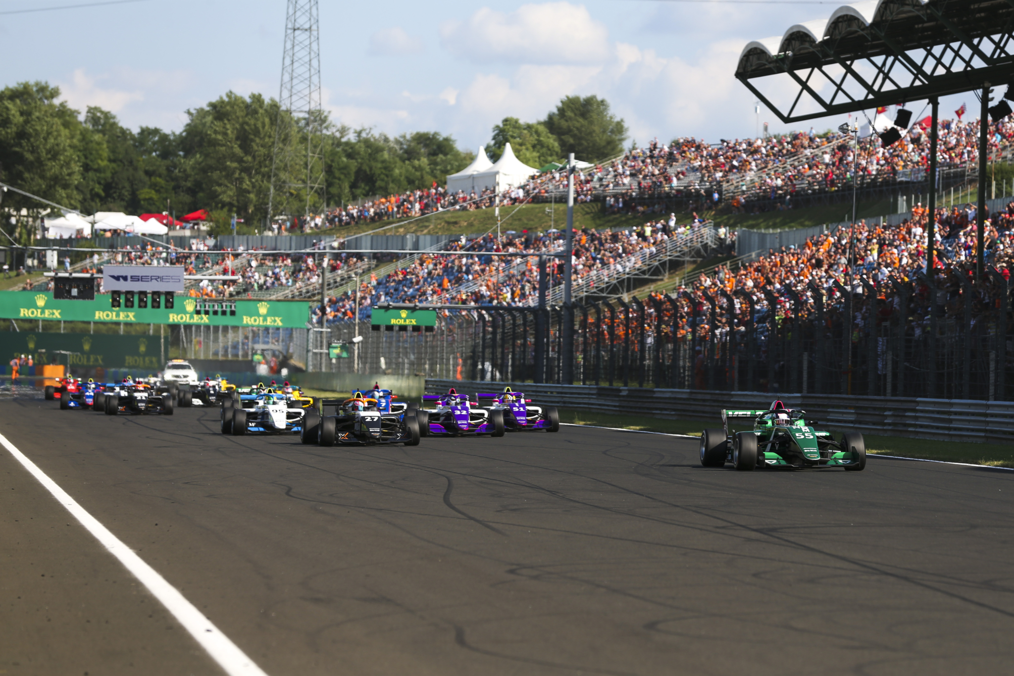 Hankook and W Series enter second half of the season with Formula 1