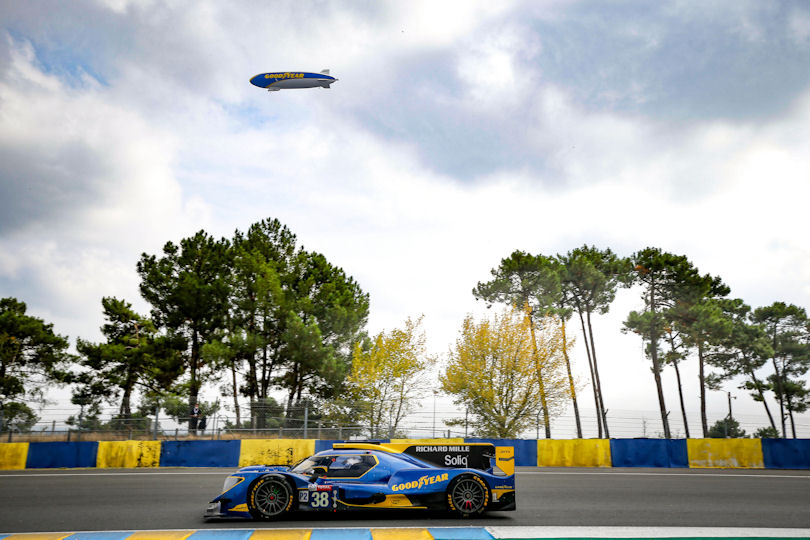 Goodyear prepares for 24 Hours of Le Mans