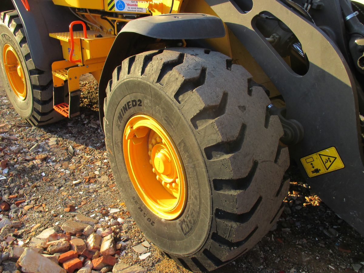 No punctures for PSH Environmental on Michelin X Mine D2 Pro tyres