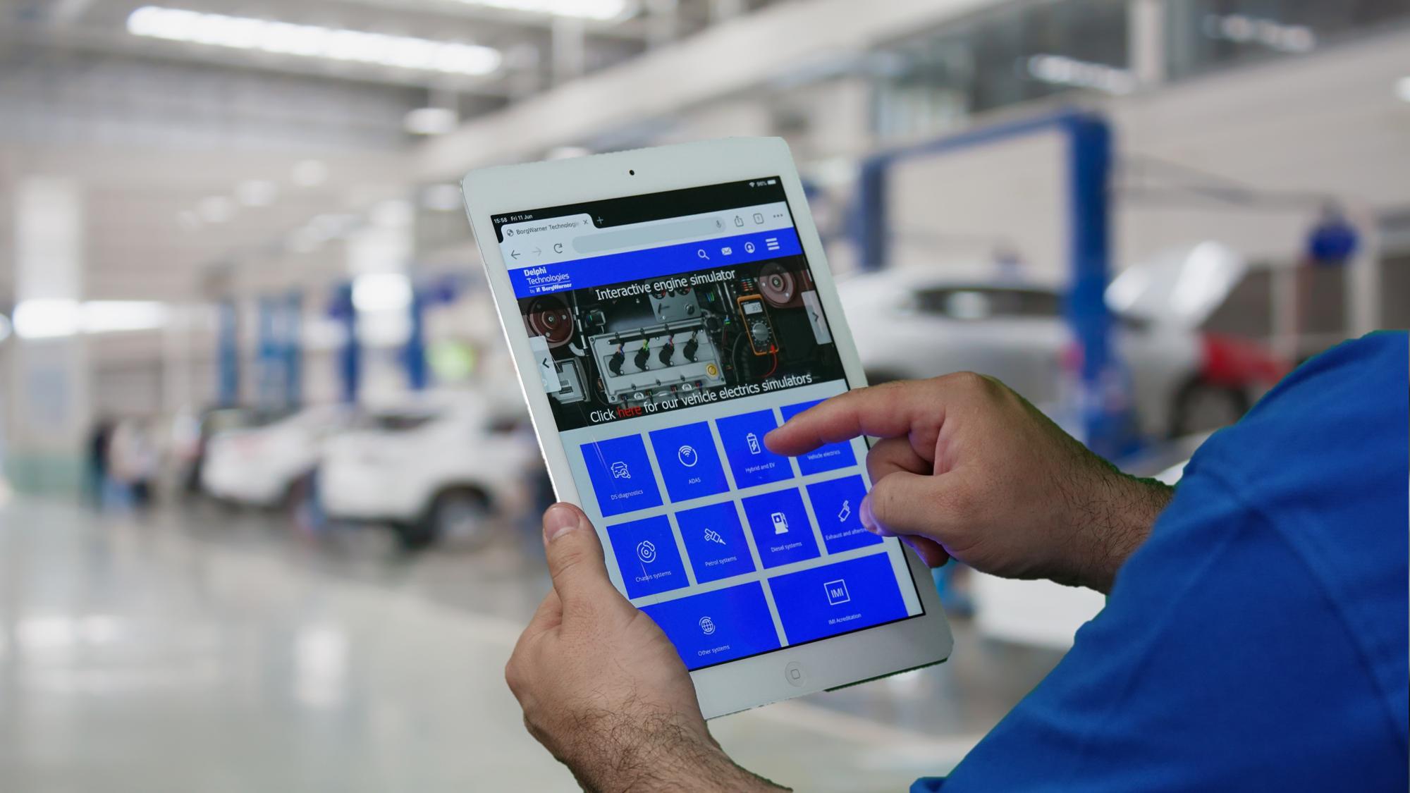 Delphi Technologies launches new e-learning platform