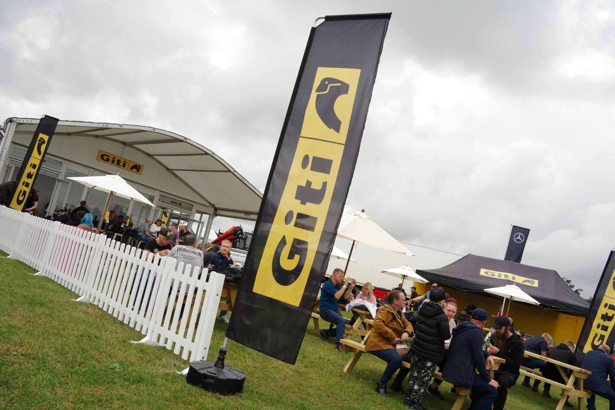 Giti Tire's Martin Gibson dominates at Donington in BTRC
