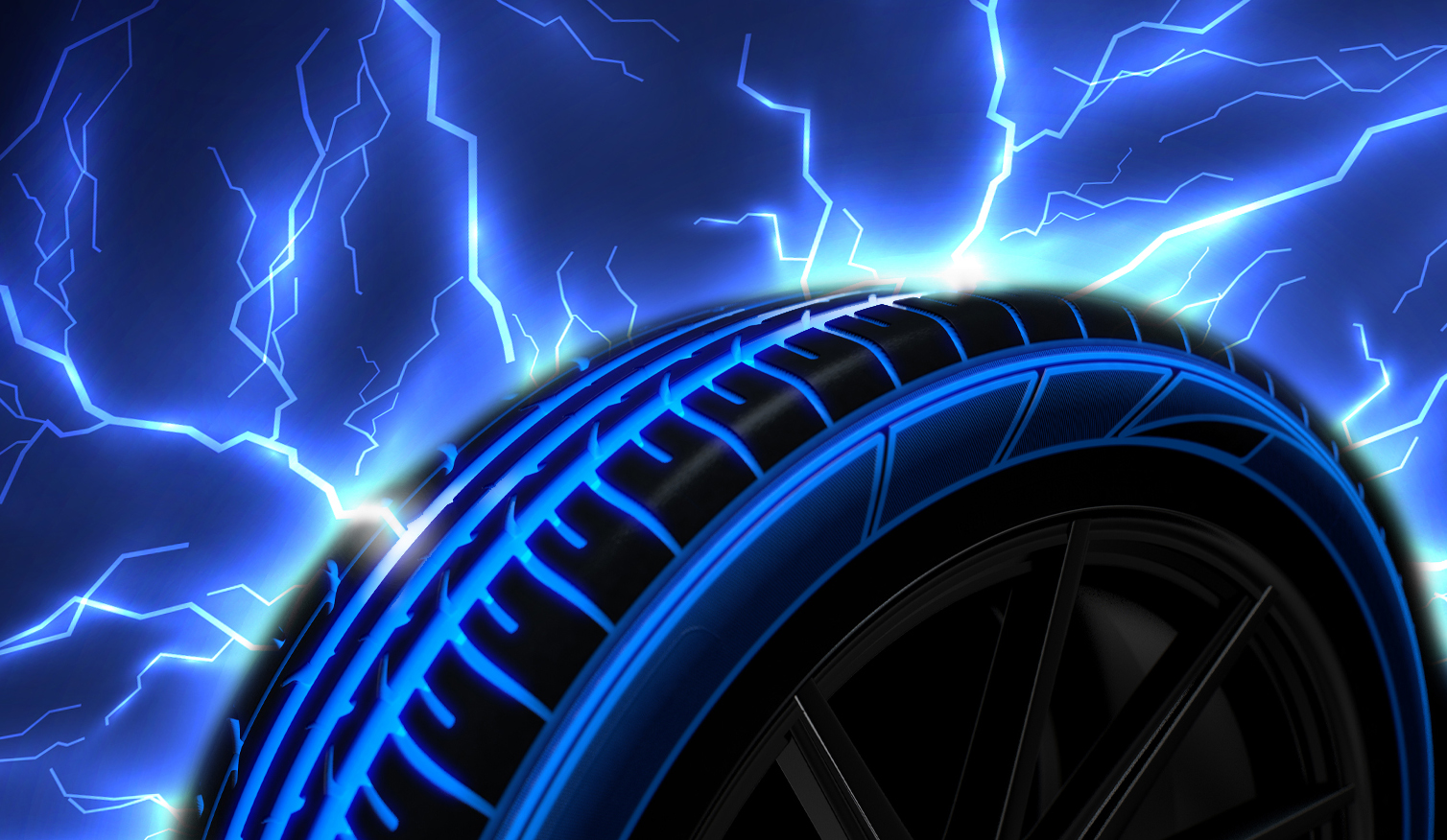 How quickly is the European electric car tyre market growing?