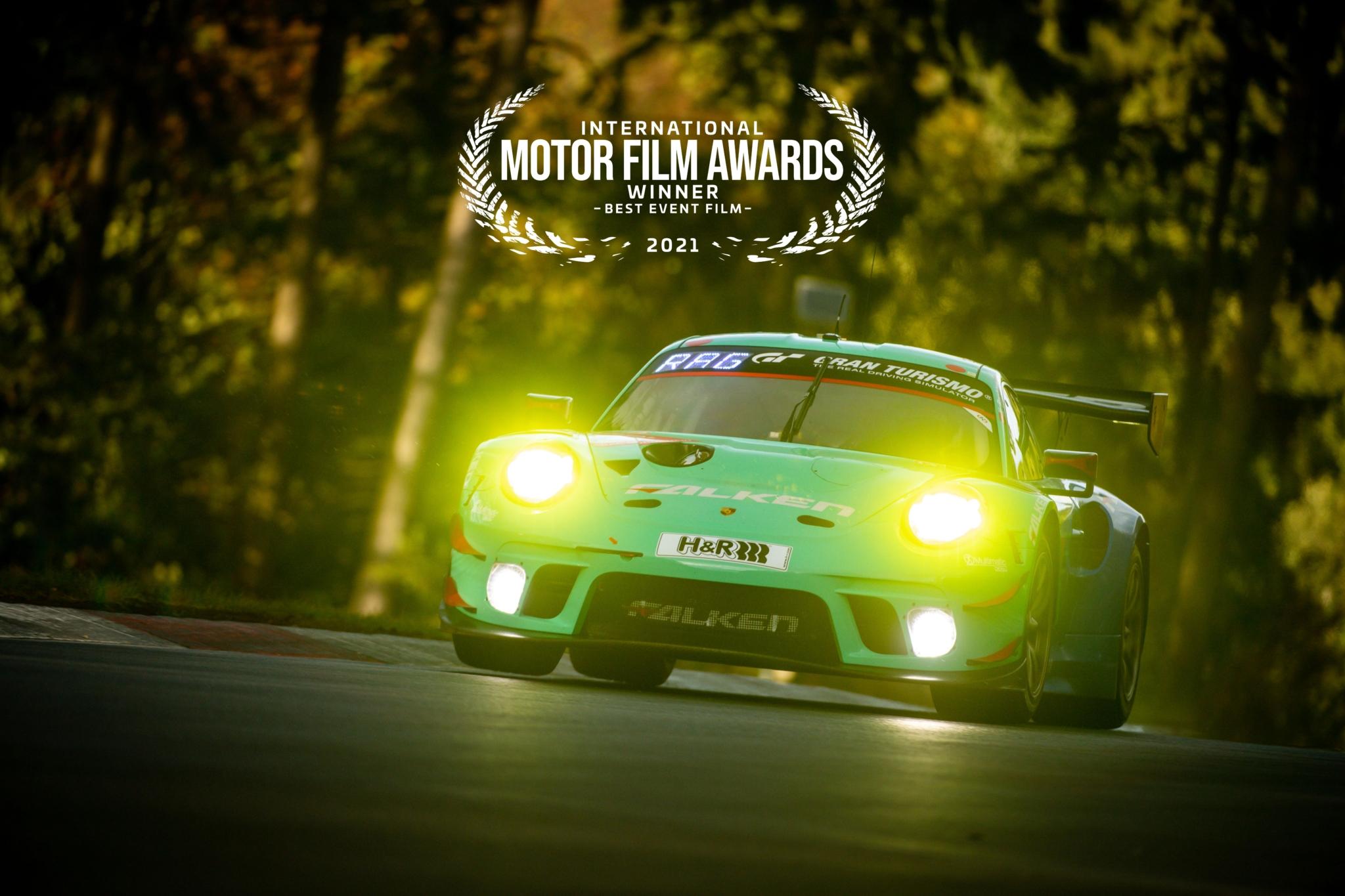 Falken wins Best Event Film at International Motor Film Awards