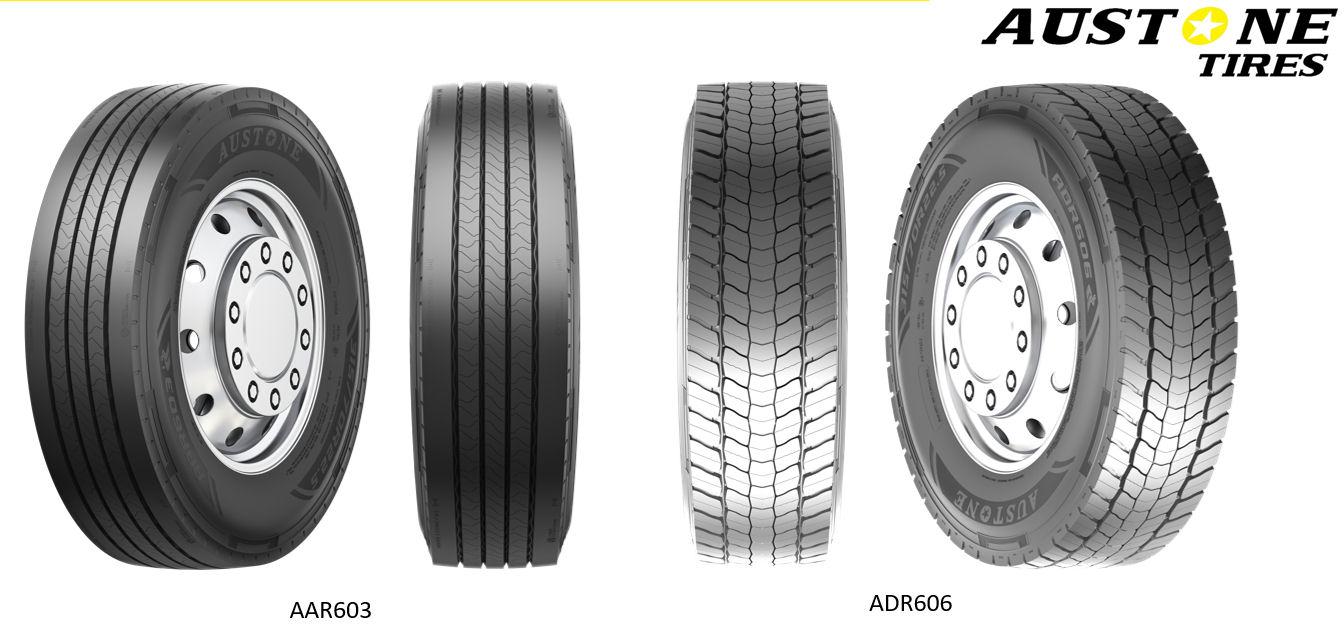 European debut for Prinx Chengshan's Austone commercial tyre range