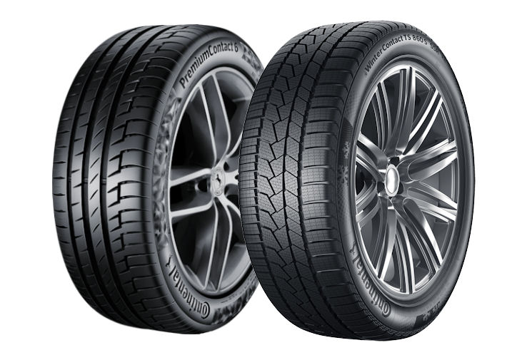 Continental tyres OE on Porsche Taycan