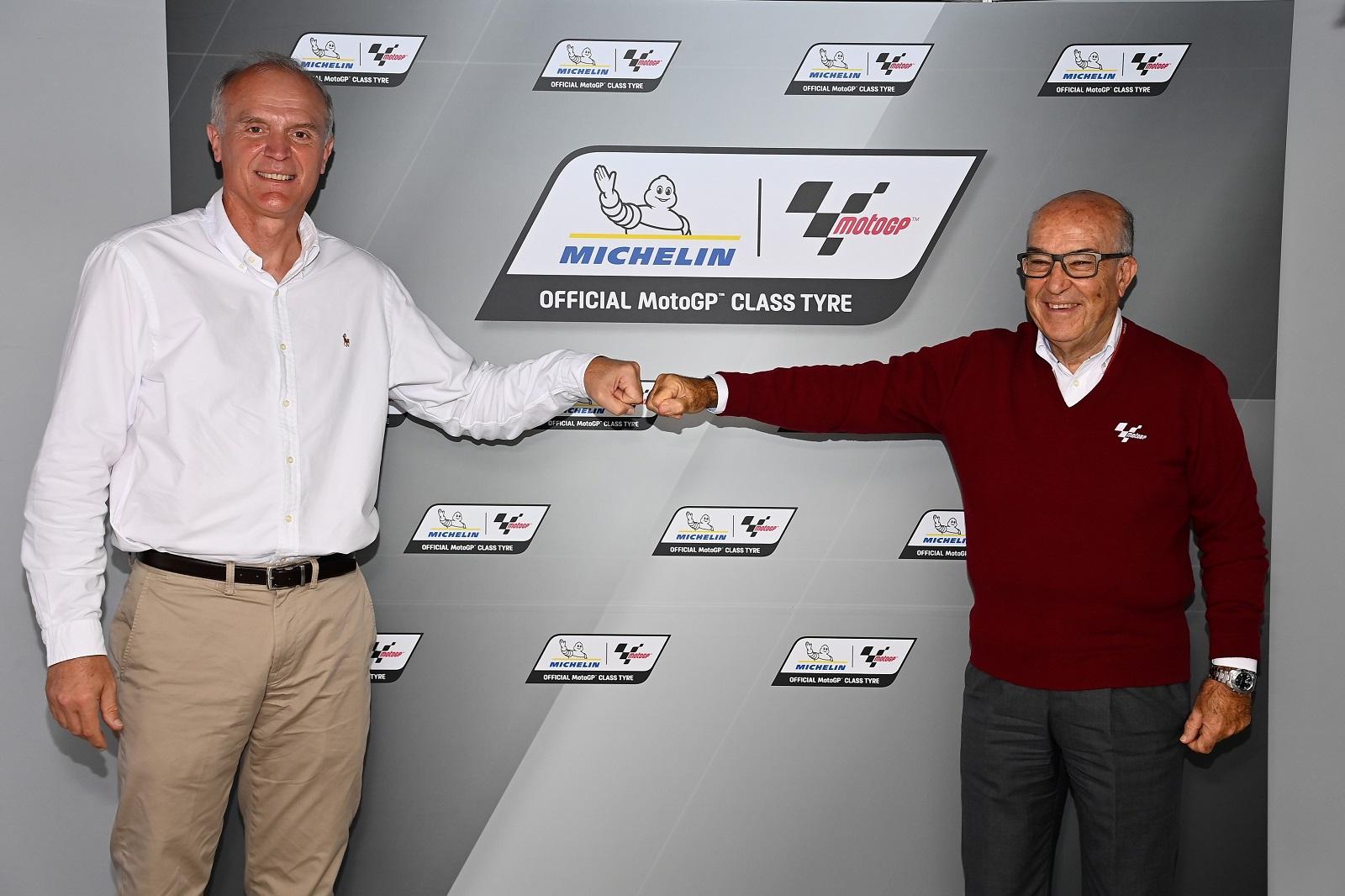 Michelin extends MotoGP tyre-supply partnership until 2026