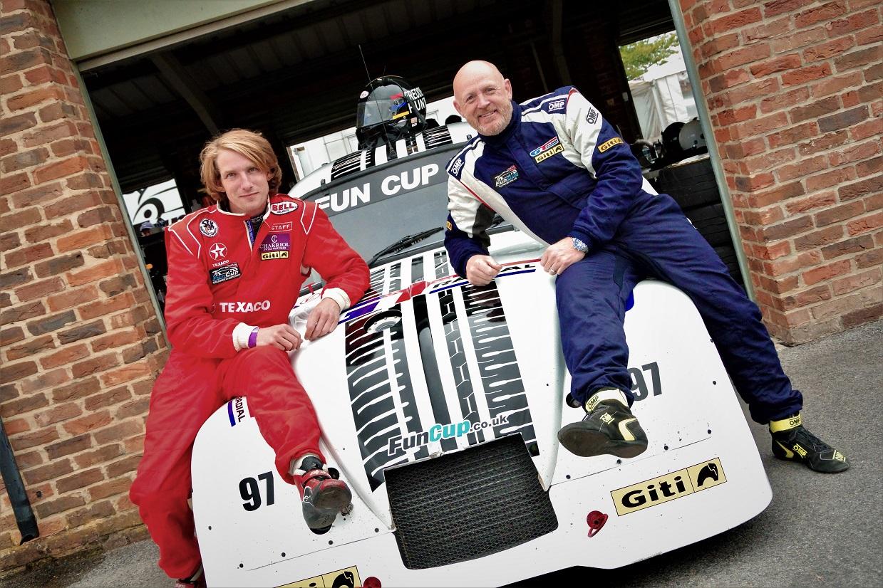 Freddie Hunt takes wheel of GT Radial #97 in Fun Cup