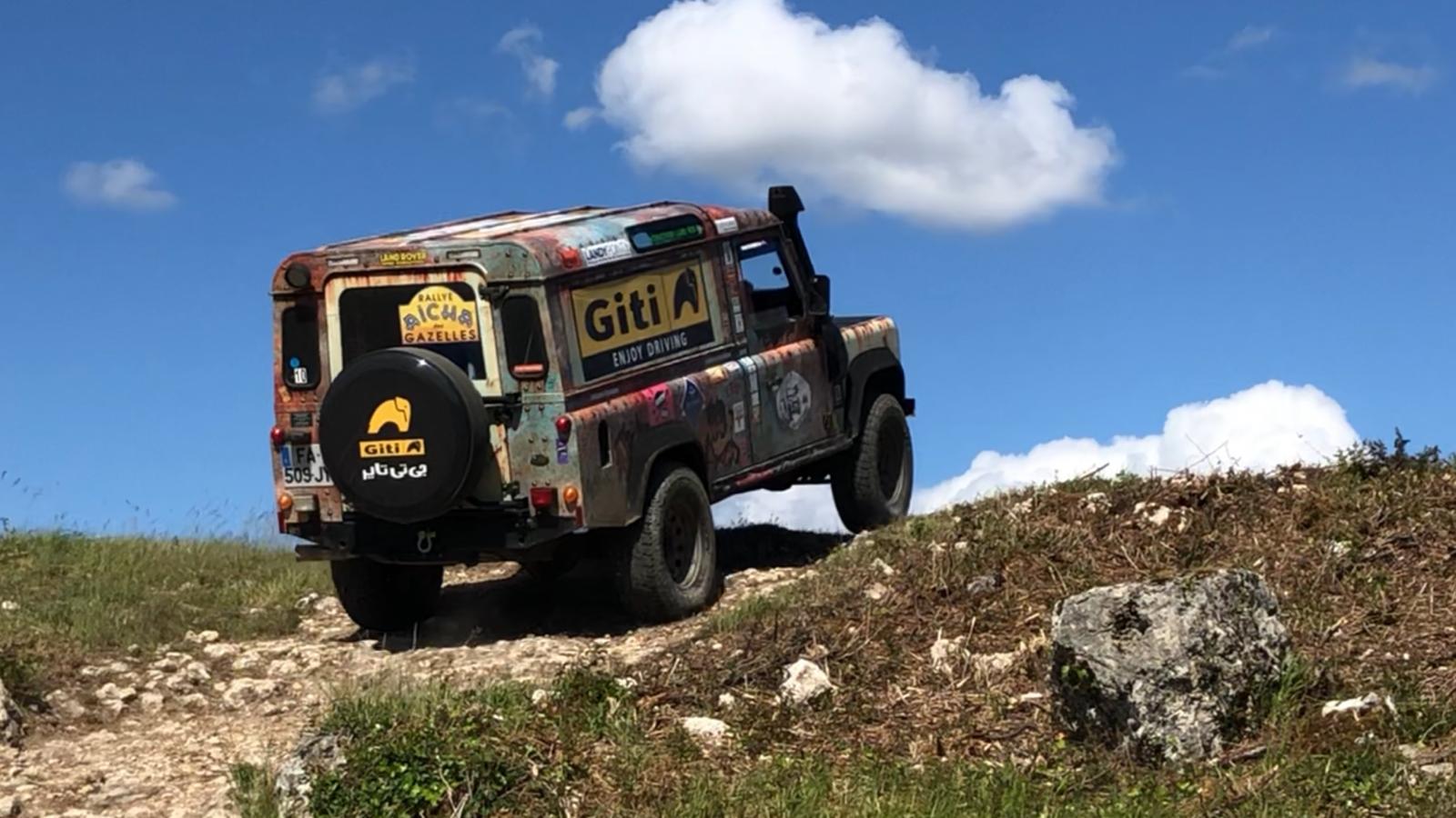 Giti Tire supports Giti Gazelles on Rallye Aïcha des Gazelles du Maroc
