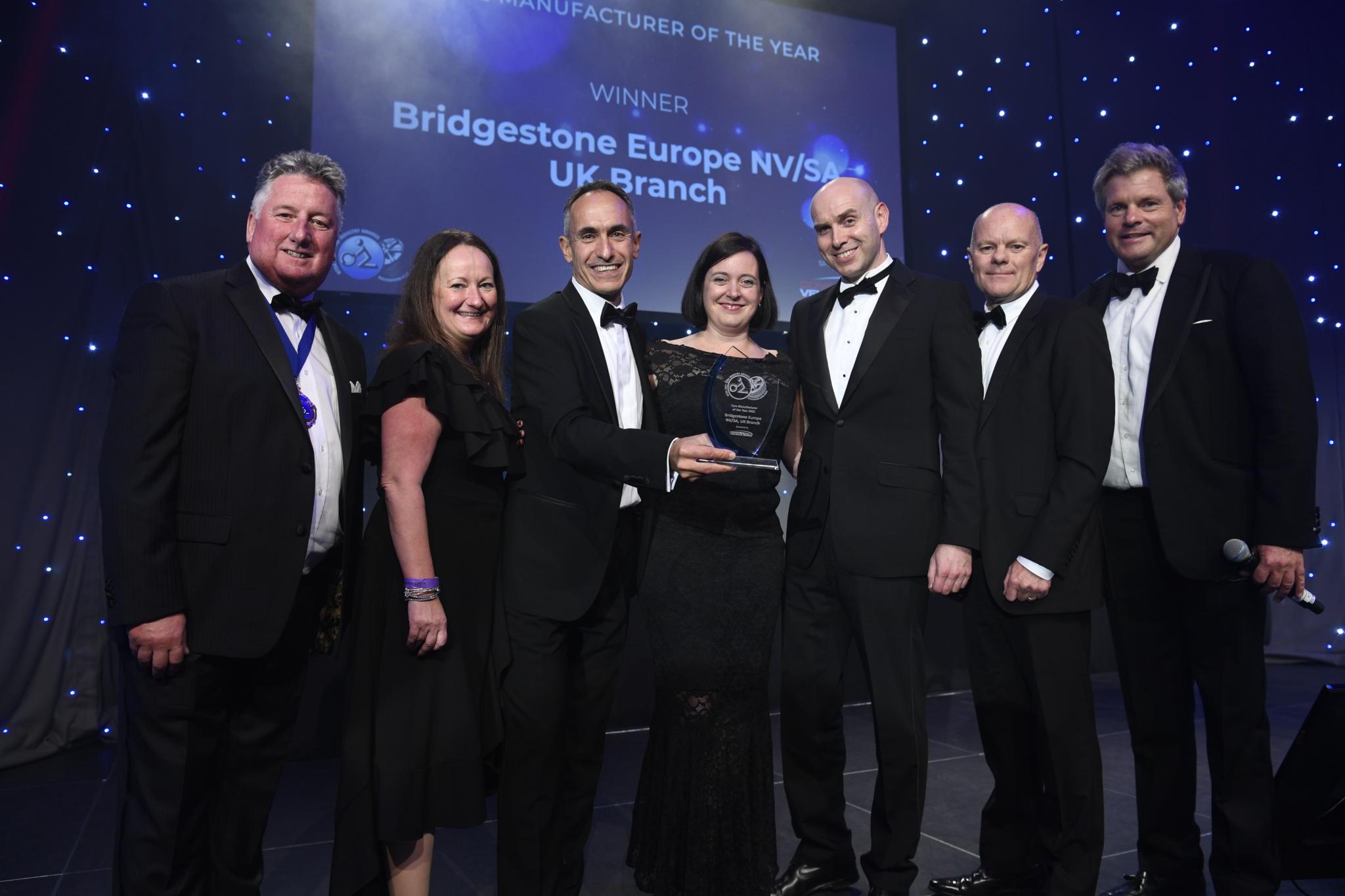 Bridgestone Tyre Industry Awards double 'a huge coup'