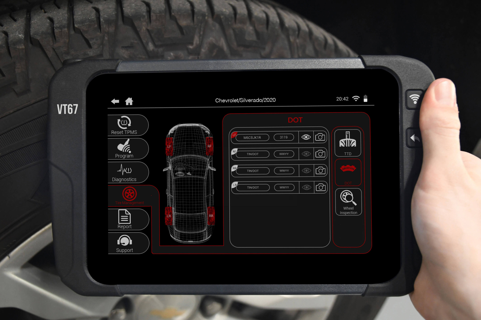 ATEQ TPMS Tools partners with Anyline to enable DOT and VIN scanning
