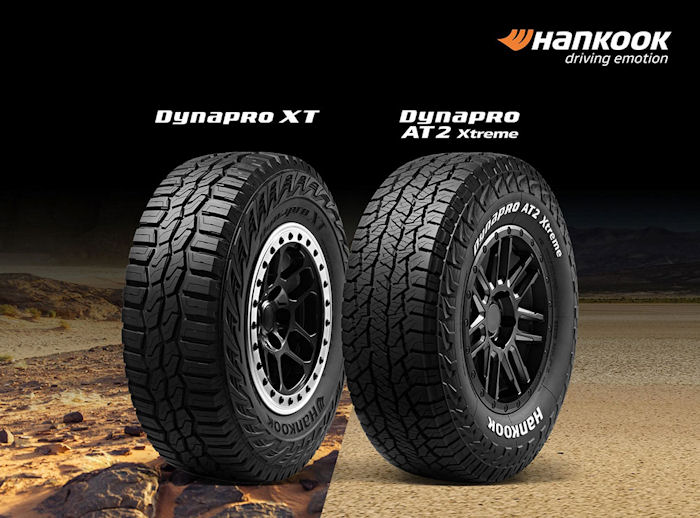 US market launch for Hankook Dynapro XT & AT2 Xtreme