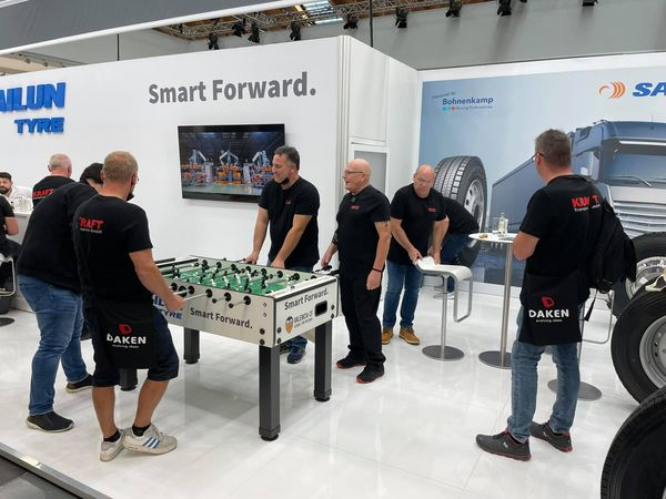 Sailun presents truck tyres with German distributor at NUFAM 2021