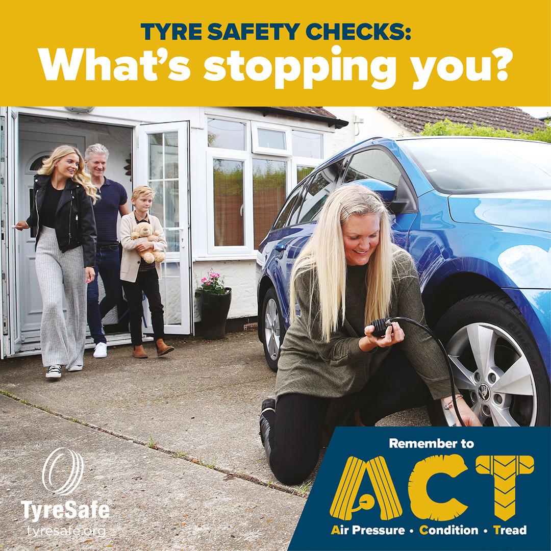 TyreSafe: UK motorists 'waste £0.6-1 billion' due to tyre underinflation