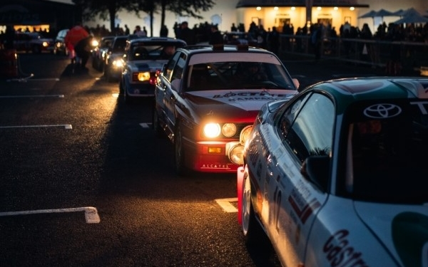 Cooper partners Goodwood Members' Meeting for Rally Sprint